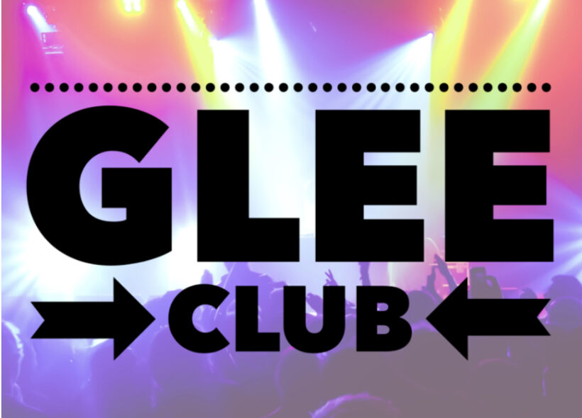 Glee Club. Nightclub lights.