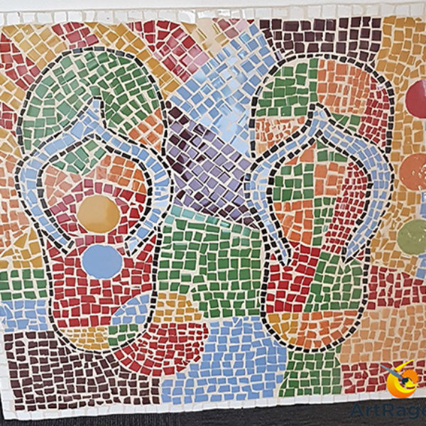 Mosaic of thongs