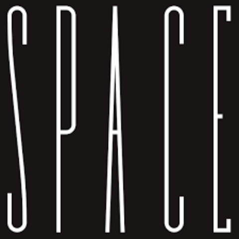 SPACE written in white on a black background