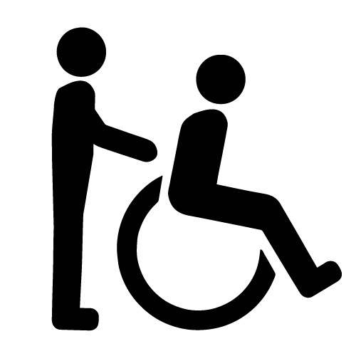 Access Support Workers Symbol