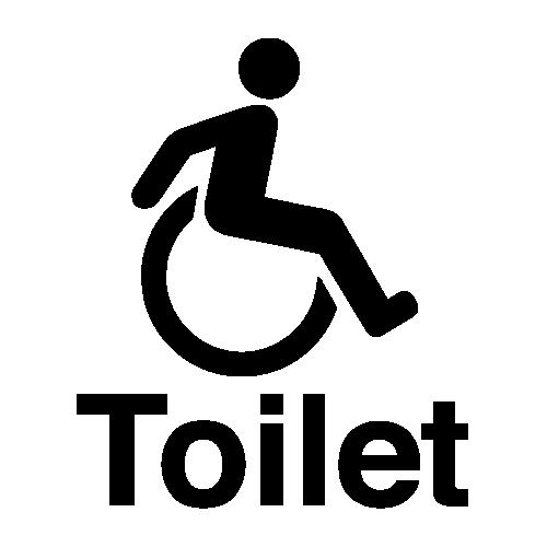 Accessible Toilet Symbol