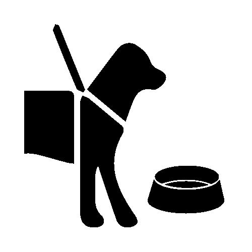 Assistance Animal Facilities Symbol