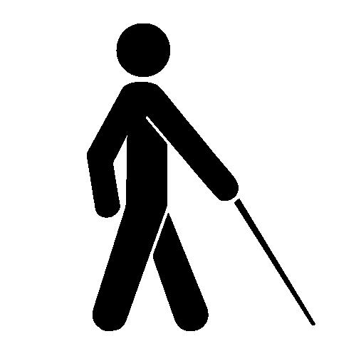 Blind or Low Vision Symbol