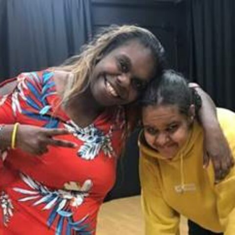Two Young Aboriginal Women - Connect2Culture Project 2019