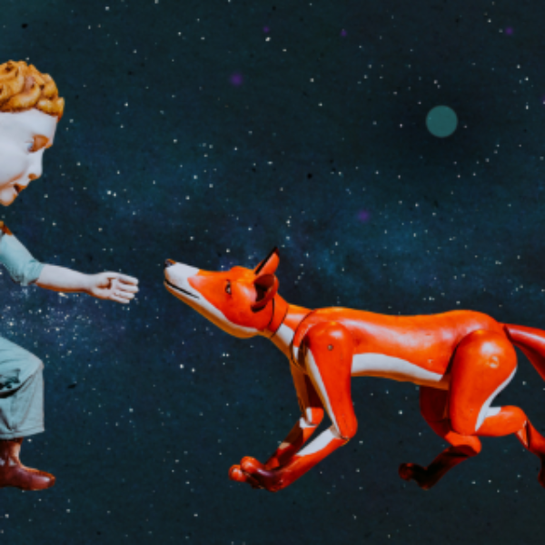 The Little Prince with Fox