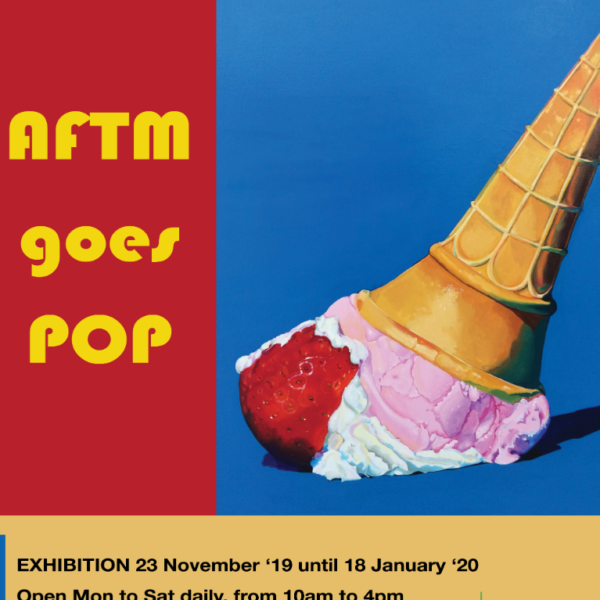 AFTM goes Pop! Official Opening Logo