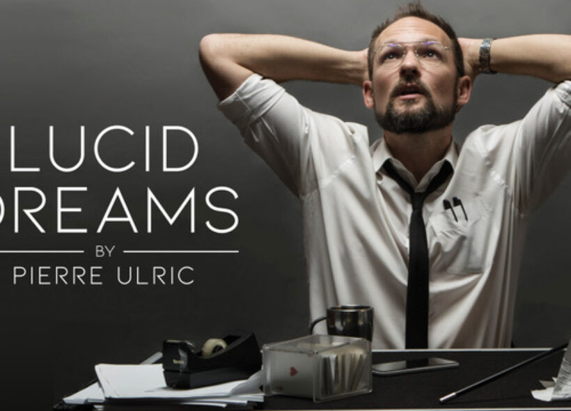 Lucid Dreams by Pierre Ulric.  Man at desk.