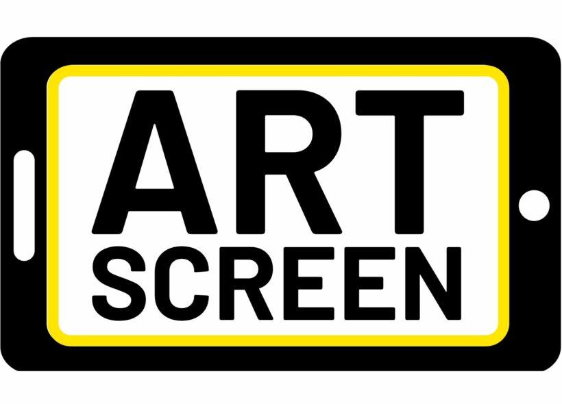 Artscreen logo.
