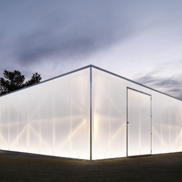 The award-winning Blak Box pavilion